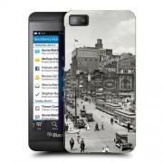 Husa BlackBerry Z10 Silicon Gel Tpu Model Vintage City