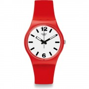 Orologio swatch gr162 unisex red pass