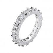 Inel tennis Kelly Silver crystal