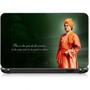 VI Collections VIVEKANANDA SPEACH pvc Laptop Decal 15.6