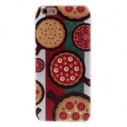 GadgetBay Étui à pizza TPU iPhone 6 6s drapeau italien vert blanc rouge couverture Italie