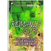Romania 2013. Starea economica sub povara efectelor crizei + CD - Constantin Anghelache