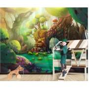 Fototapet Magic Forest - 375 x 250 cm