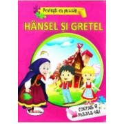 Hansel si Gretel Povesti cu puzzle