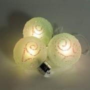 Светодиодная фигура Feron LT034 RGB набор из 3 стеклянных шаров(26851)
