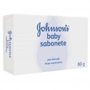 Sabonete Infantil Johnsons e Johnsons Baby Com 80 G