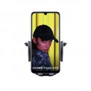 Shop4 - Huawei P Smart 2019 Autohouder Verstelbare CD Houder Zwart met Draaiklem Zwart