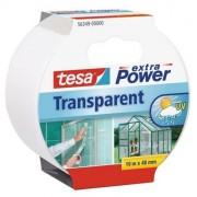 Ragasztószalag, textil erősítésű, 48 mm x 10 m, TESA, Extra Power, átlátszó (TE56349)