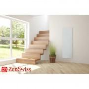 ZenSwiss Niedrigenergie-Infrarotheizungen (Leistung/Grösse: 390W / 40 cm x 120 cm, Farbe: Matt Weiss)