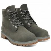 Timberland - 6 Inch Premium Boot - Chaussures de loisirs taille 4,5, gris/vert olive/noir