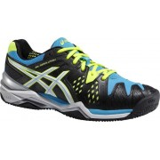 ASICS Tennisschoenen Gel Resolution Clay 6 heren zwart mt 39