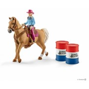 Set figurine Schleich - Cursa butoaielor cu vacarita - SL41417