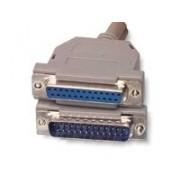 Cablu paralel prelungitor 3m D-SUB 25pini mama - tata