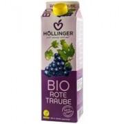 Suc de Struguri Rosii Bio Hollinger 1L