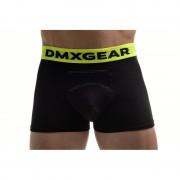 DMXGEAR Anatomic Fit Luxury Cotton Boxer Brief Underwear Black DMX18AF02