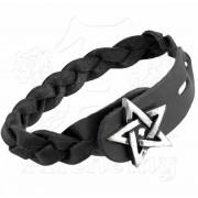 bracciale Pentagram- Gaelico Treccia ALCHEMY GOTHIC - A37