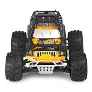Remote Control Car , WLtoys 2.4GHz Radio Controlled Electric Car Fast 45+KM/H Off-road RC Cars 4WD Rechargeable RC Truck