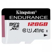 Карта памет 128GB microSDXC, Kingston 128GB SDCE/128GB, Class 10 UHS-I, скорост на четене 95MB/s, скорост на запис 45 MB/s, SDCE/128GB