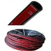 AST Works 4M Weatherstrip Weather Car Door Rubber D-Shape Top Hollow Universal Hot Seal t
