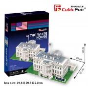 Cubicfun Casa Alba Washington SUA Puzzle 3D 64 de piese