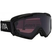 Alpina Panoma S Magnetic Q+S S1+S3 goggles zwart 2017 Goggles