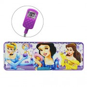 Snow White Pencil Box With LED Lamp