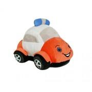 Soft Buddies Plush Toy Police Car, Orange