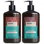 Arganicare Kit à l'Huile d'Argan shampooing & après-shampooing cheveux secs et abîmés - 2x400 ml