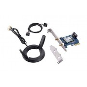 Asus Dual Band 802.11AC Wireless-AC2100 Pci-E Bluetooth 5 Gigabit Wi-Fi Adapter, 160MHz Support (Pce-AC58BT)