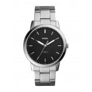 メンズ FOSSIL THE MINIMALIST 3H 腕時計 ブラック