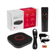 MAG 425A Android TV 8.0 4K HEVC 5G WIFI Bluetooth, röststyrd fjärrkontroll, 4K