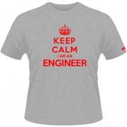 Keep calm engeenier - gri - SolS Regent - L