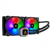 Водно охлаждане за процесор Corsair Hydro Series H115i RGB PLATINUM 280mm, съвместимост със сокети LGA Intel 115x/2011/2066, CW-9060038-WW