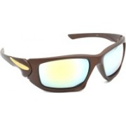 Redleaf Sports Sunglasses(Golden, Silver)