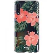 Samsung HappyCase Samsung Galaxy A70 Flexibel TPU Hoesje Tropic Vibe Print