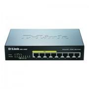 D-Link neon-rood/neon-blauw »DGS-1008P 8-Port Layer2 PoE Gigabit Switch« - 82.99 - zwart