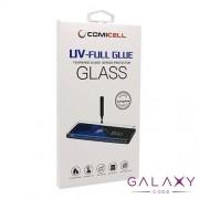 Folija za zastitu ekrana GLASS 3D MINI UV-FULL GLUE za Huawei P30 Lite providna