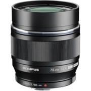 Obiectiv Foto Olympus M.Zuiko ED Digital 75mm f1.8 Black