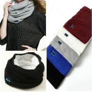 Wireless Bluetooth Headphone Scarf Winter Outdoor Music Wireless Warm Scarf Neckerchief With Mic