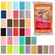Cake Supplies Fondant de colores de 250 g - FunCakes - Color Negro