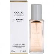 Chanel Coco Mademoiselle Eau de Toilette para mulheres 50 ml recarga