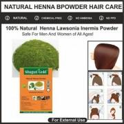 Herbal Henna Powder (Hair Color) Natural Brown (Pack of 4) 400gm
