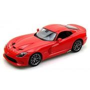 Dodge SRT Viper GTS, Red - Maisto 31128 - 1/18 Scale Diecast Model Toy Car