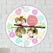 Ceas Personalizat Round Decoration