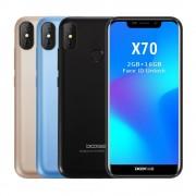 Telefon mobil Doogee X70 Android 8.1 5.5 inch U Notch 19:9 MTK6580 QuadCore 2GB RAM 16GB ROM 4000mAh Dual SIM