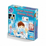 Set educativ - Corpul uman, 12 experimente