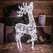 Karácsonyi álló rénszarvas 1m