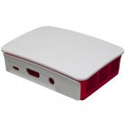 Raspberry Pi 3 Modelo B + Caja + Kit Oficial De Disipadores De Calor - Blanco + Verde