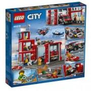 LEGO R City Fire - Statie de pompieri 60215