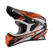 O'Neal 3 Series Hurricane Orange Casca MotoCross Marime L 58-59 cm